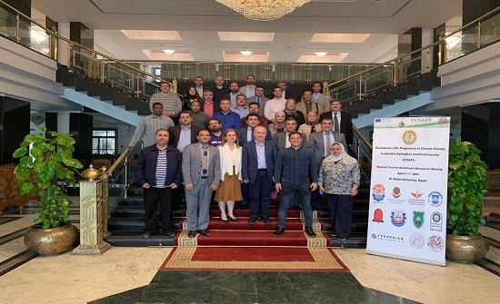 جامعة جرش تشارك في اجتماع اداري حول التغير المناخي .. في مصر