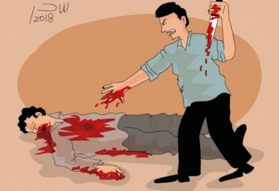 قتلته انتقامًا لشرفي.. والزوجة: زوج خالتي طلب أصورله جسمي