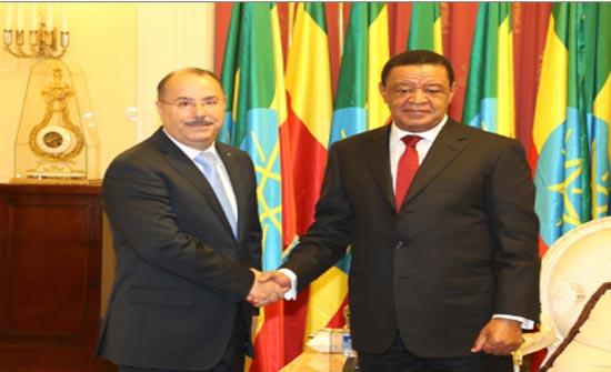 السفير الاردني عياد يقدم اوراق اعتماده للرئيس الاثيوبي