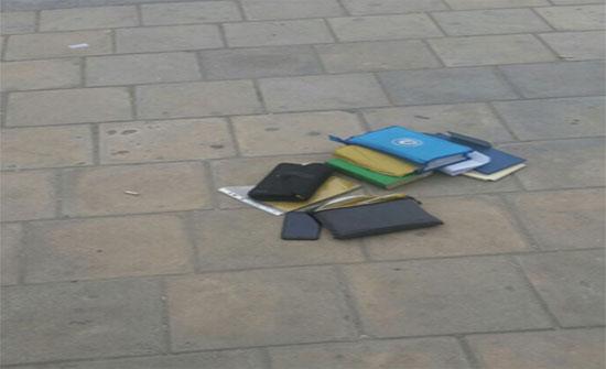 حقيبة مشبوهة تستنفر الأمن في جبل الحسين..(صورة)