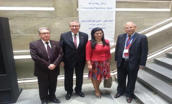 """الجامعات العربية"""" تشارك باجتماعات المؤتمر العربي الاوروبي الخامس ببروكسل"""