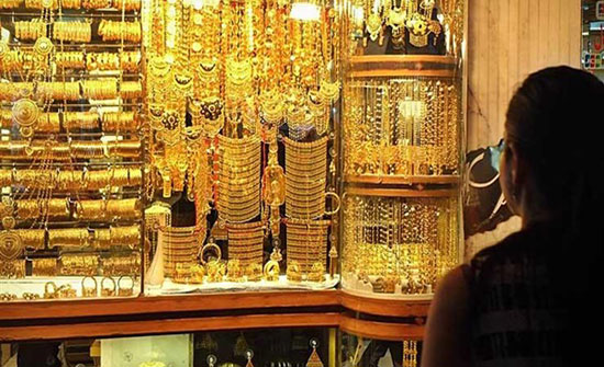 5ر26 دينار سعر غرام الذهب بالسوق المحلية