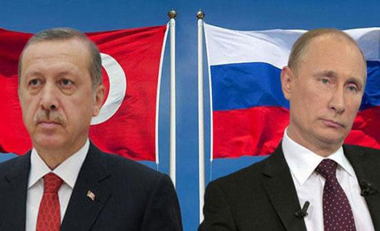 إردوغان يلتقي بوتين الاثنين لمناقشة ملف إدلب