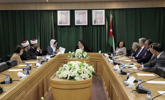 """""""لجنة المرأة"""" في الأعيان تؤكد أهمية برنامج التأهيل قبل الزواج"""