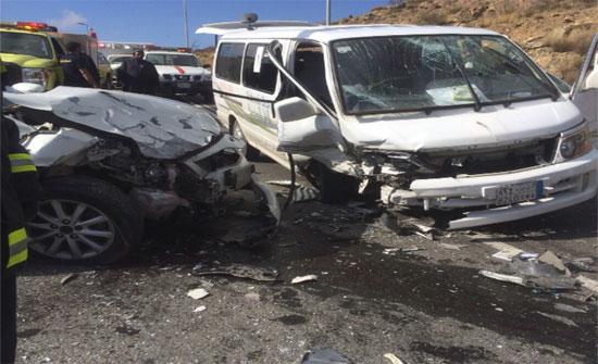 وفاة عشريني وإصابة اثنين آخرين اثر حادث تصادم في العقبة