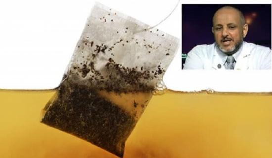 الخضيري يكشف حقيقة أكياس الشاي المسرطنة والمسببة للعقم