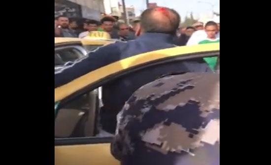 """حقيقة فيديو سائق التاكسي """"المتوفي"""" في حي نزال"""
