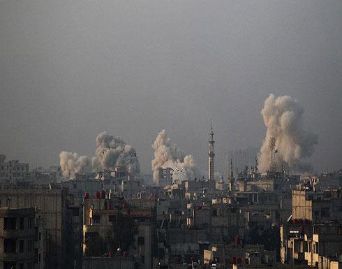 """مقتل 14 مدنيا في غارات جوية على """"إدلب"""" السورية"""