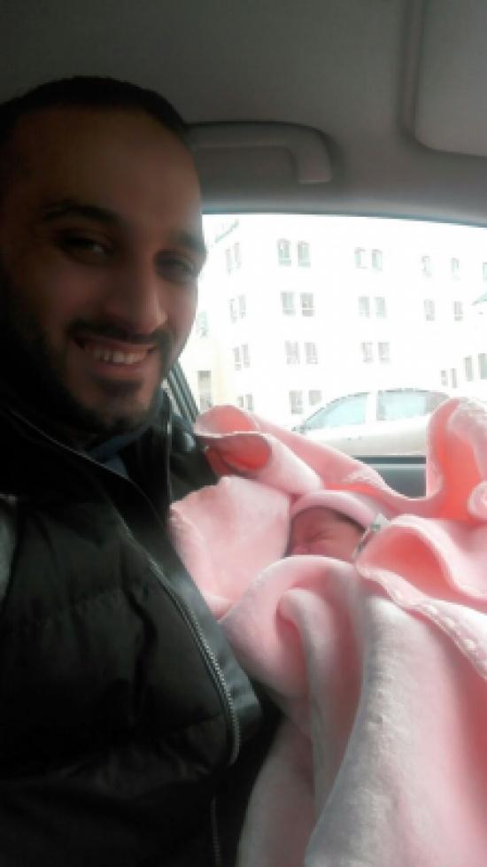 مبروك للزميل احمد الهناندة بمولودته الجديدة