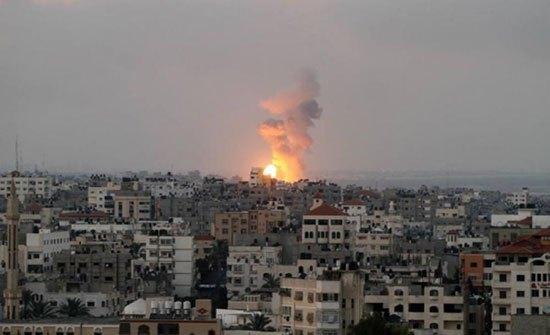 طائرات الاحتلال تقصف ارضا جنوب قطاع غزة