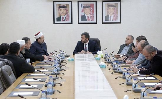 إدارية النواب تناقش عددا من الموضوعات المتعلقة بوزارة الاوقاف