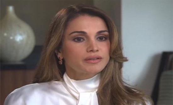الملكة رانيا تعزي الامارات