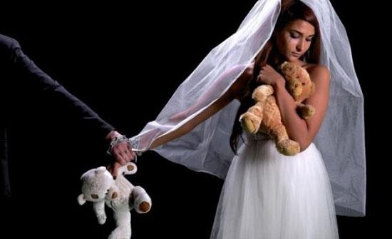 تقرير : 7 عقود زواج لقاصرات كان فارق العمر بين الزوجين أكثر من 15 عاماً