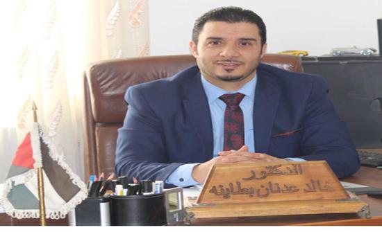 ترقية الدكتور خالد بطاينة إلى رتبة أستاذ مشارك في جامعة إربد الأهلية