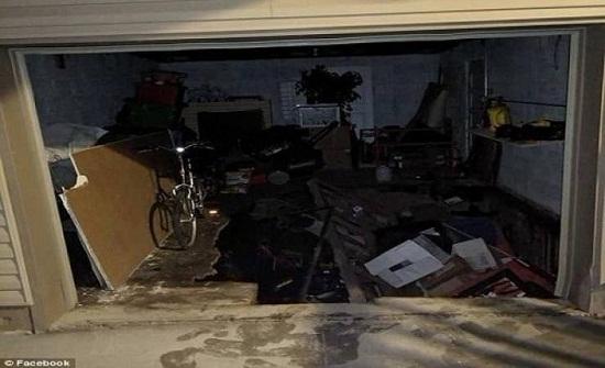 صور  زوجان يكتشفان غرفة سرية تحت منزلهما بالصدفة!