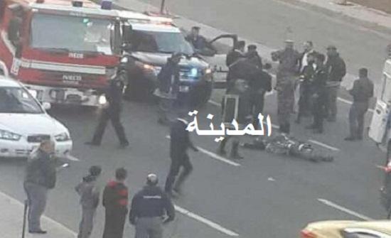 بالصور : انتحار عشريني من جسر عبدون