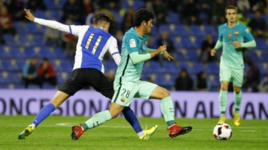 تعادل يهز النادي الكتالوني قبل مواجهة ريال مدريد