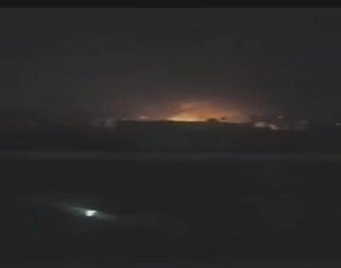 صنعاء.. غارات التحالف تقصف مخازن أسلحة سرية للحوثيين