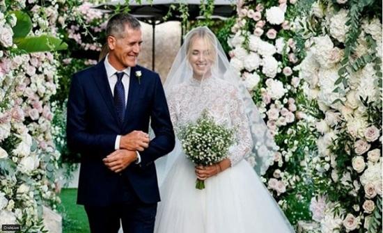 صور:هذه الفتاة زفافها كان أجمل من زفاف ميغان ماركل
