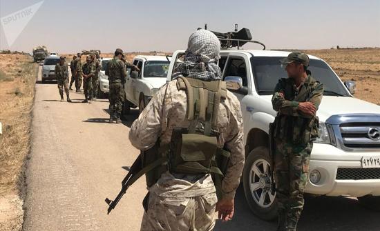 العثورعلى عربات نقل بريطانية قرب الحدود السورية الأردنية