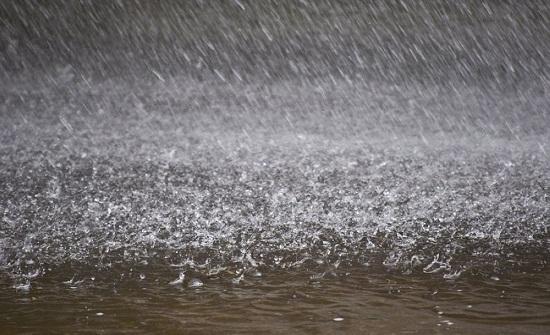 عبين تسجل أعلى نسبة هطول مطري في عجلون