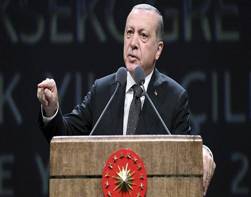 أردوغان: سنواصل المعارك ضد الإرهابيين حتى الحدود مع العراق