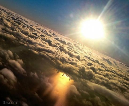 صور من نافذة الطائرة 7