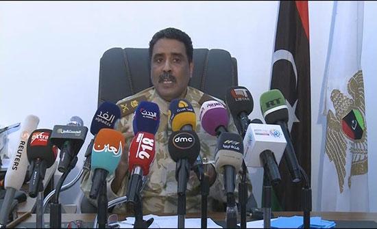 الجيش الليبي يدمر غرفة التحكم بالدرون في مطار معيتيقة