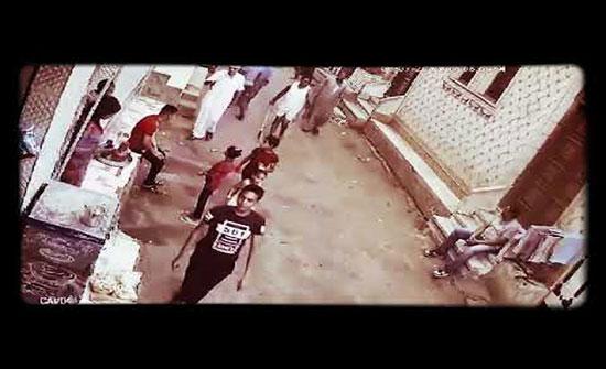شاهد : لحظة قتل شخص اثناء مشاجرة بمصر