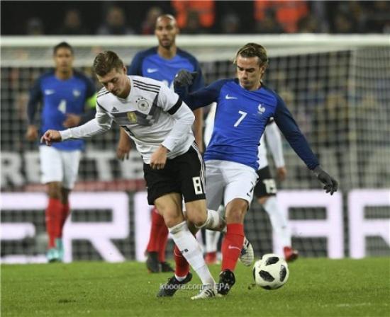 ألمانيا تحافظ على سجلها الناصع ب2017 بتعادل قاتل مع فرنسا