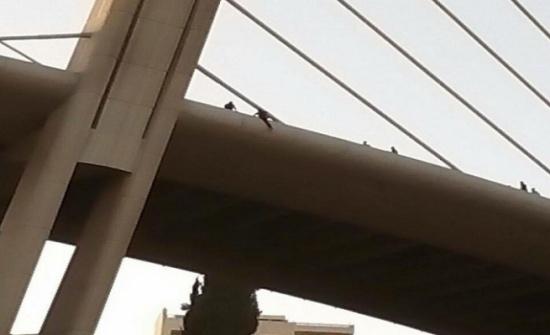انتحار فتاة من فوق جسر عبدون