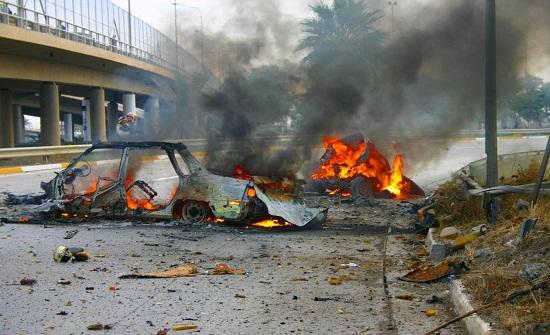 مقتل شخص واصابة ثلاثة بتفجير شمال بغداد