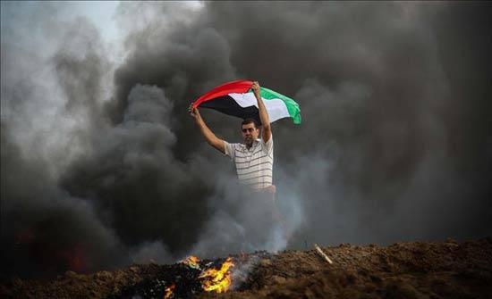 اندلاع مواجهات بين فلسطينيين والجيش الإسرائيلي في الضفة الغربية