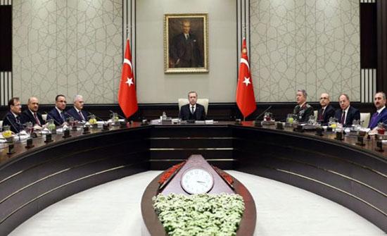مجلس الأمن القومي التركي: لن نسمح بتشكيل جيش إرهابي على حدودنا