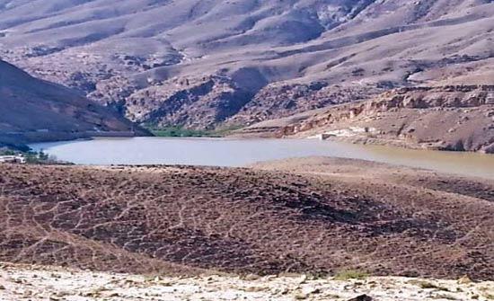 الحفائر الترابية في الطفيلة تستوعب الاف الامتار المكعبة من مياه الامطار