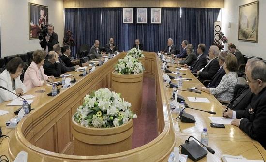 إدارية الأعيان تلتقي وزيري الداخلية والإدارة المحلية