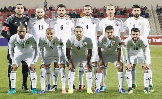 طاقم حكام لبناني يدير مباراة الاردن وقبرص