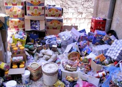 اتلاف ١٦ طن أغذية فاسدة في الطفيلة