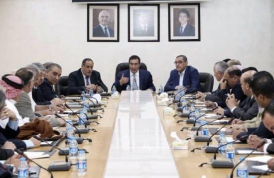 الطراونة يبحث مع القائم بأعمال السفارة الليبية قضايا مشتركة
