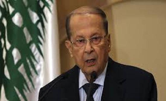 عون: قرار ترمب بنقل سفارة بلاده الى القدس يبعد السلام