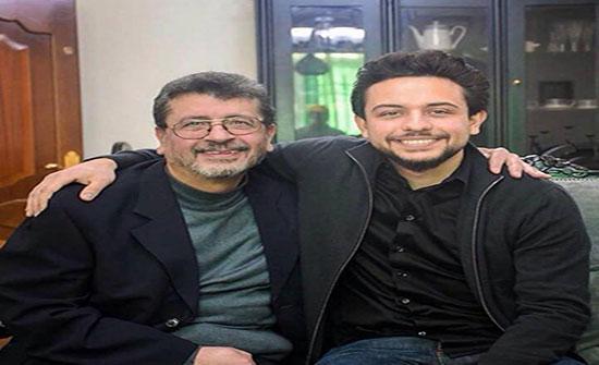 الامير حسين  يزور الفنان ربيع شهاب