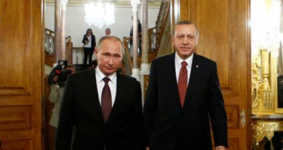 أردوغان وبوتين يبحثان هاتفياً آخر التطورات المتعلقة بسوريا والعراق
