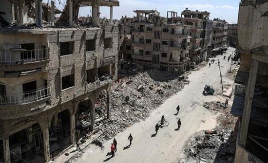 مقتل 5 أطفال بانفجار لغم في الغوطة الشرقية