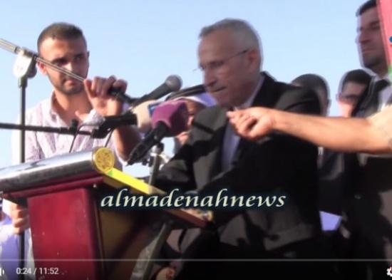 فيديو : ماذا قال كامل العجلوني نيابة عن عشيرة العثامنة في صلحة الصريح مع الشياب
