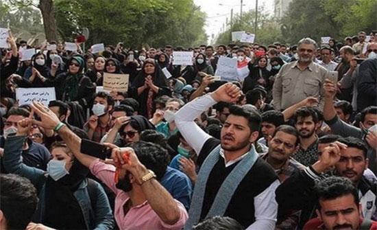 إضرابات وتظاهرات وتجمعات احتجاجية للمضطهدين ضد نظام ولاية الفقيه