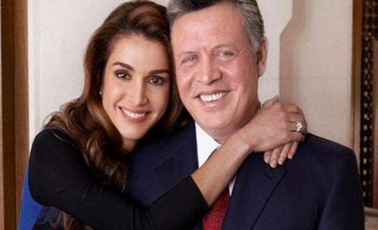 شاهدوا .. صور نادرة من زفاف الملك عبدالله والملكة رانيا