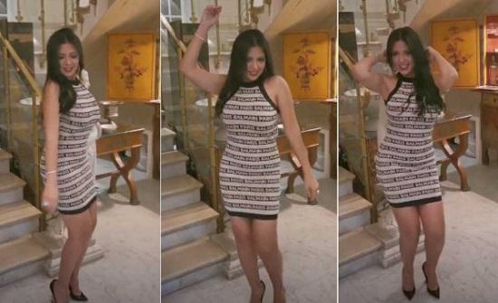 """فيديو: وصلة رقص لـ """"رانيا يوسف"""" في مناسبة خاصة"""
