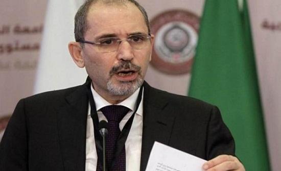 الصفدي : لا سلام في المنطقة دون تلبية حقوق الشعب الفلسطيني