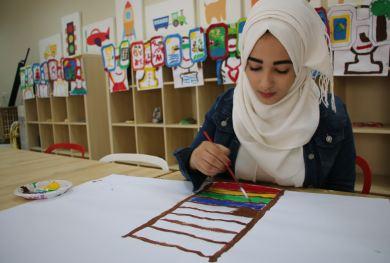 لاجئة سورية: مؤسسة نهر الاردن اعادت تنظيم حياتي