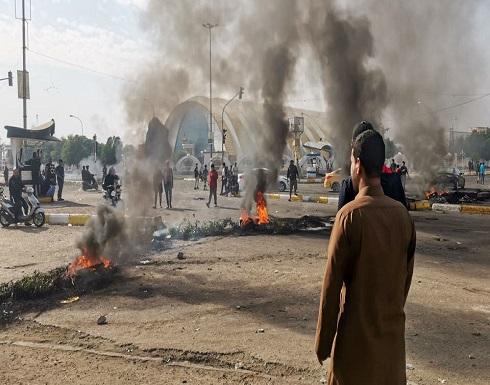 العراق.. استمرار قطع جسري الزيتون والحضارات بالناصرية